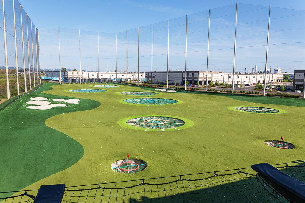 Piłkochwyty na pola golfowe