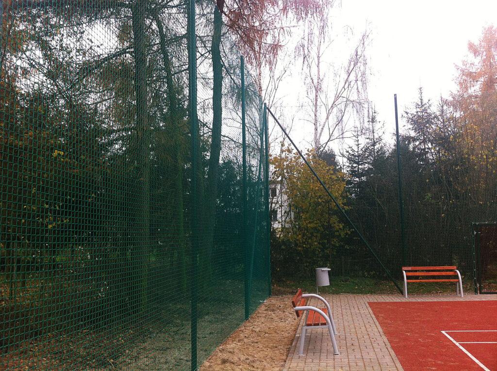 Ogrodzenie boisk z piłkochwytów