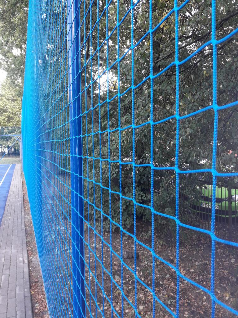Siatki na piłkochwyty do ogrodzenia obiektów sportowych